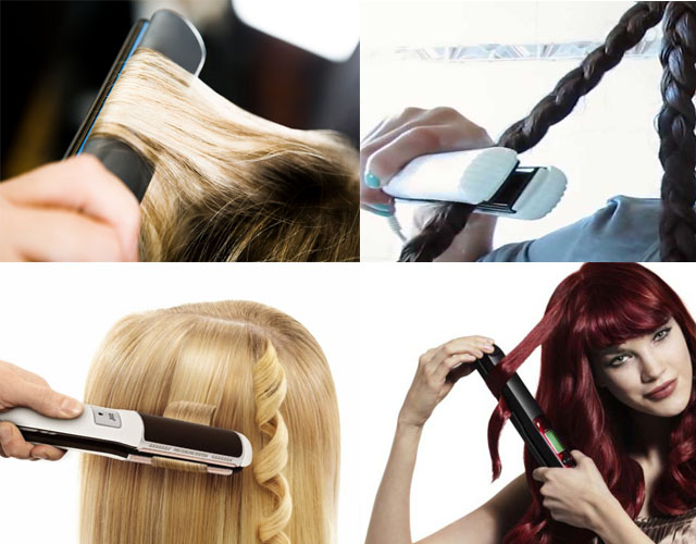 На что накрутить длинные волосы дома