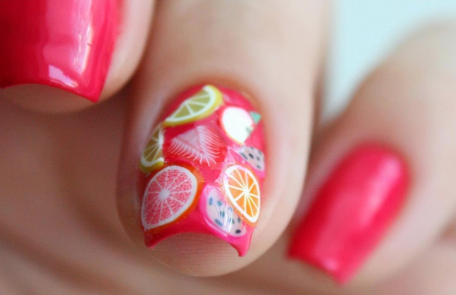 Дизайн ногтей фрукты: повторить сможет каждый