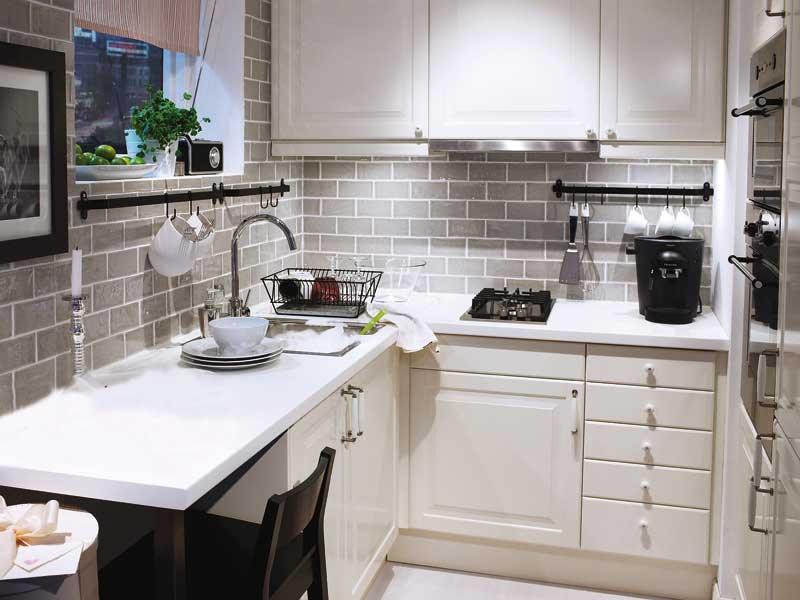 Фото кухни икея