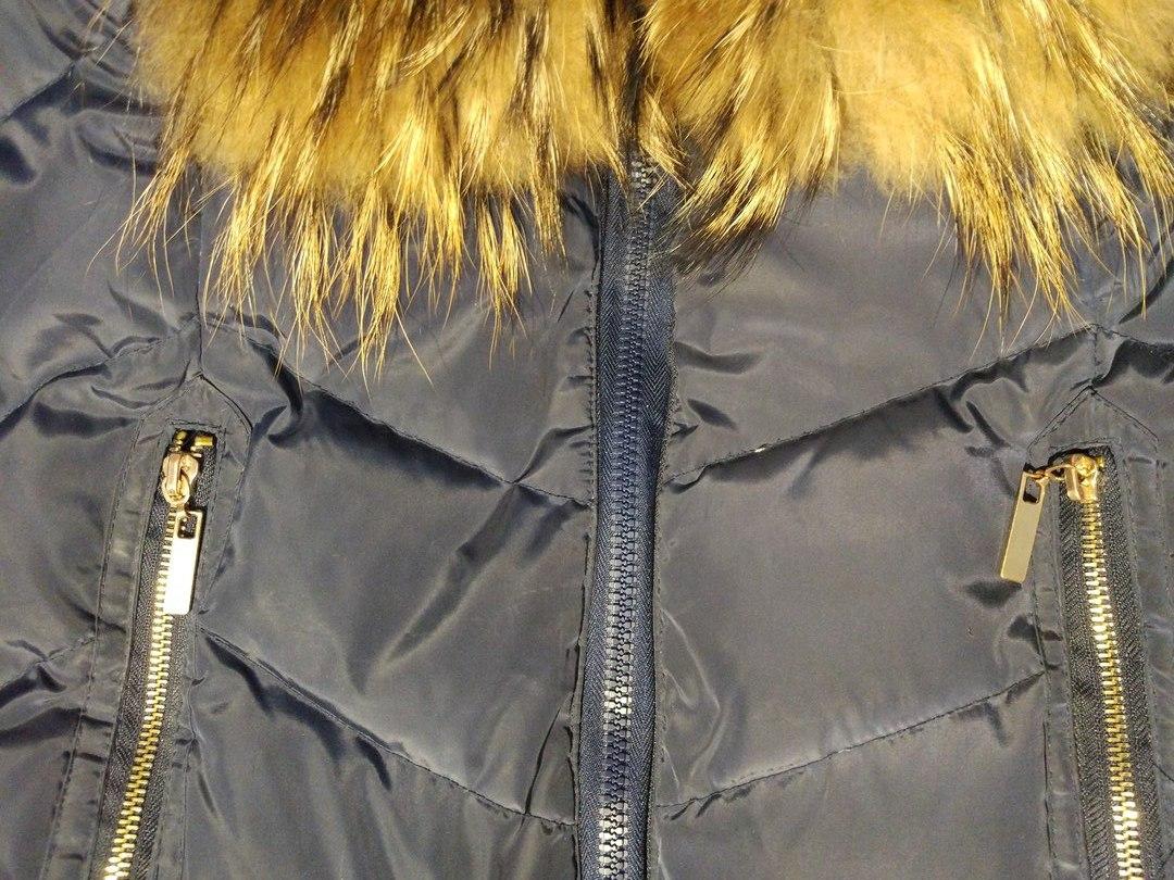 Шитье молнии в куртки
