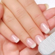 Как убрать вертикальные бороздки на ногтях?