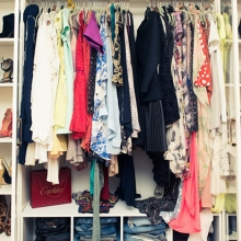 Как навести порядок в шкафу?